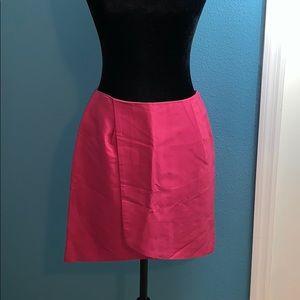 💙 Kate Spade Saturday ♠️ Pink Faux Wrap Skirt B